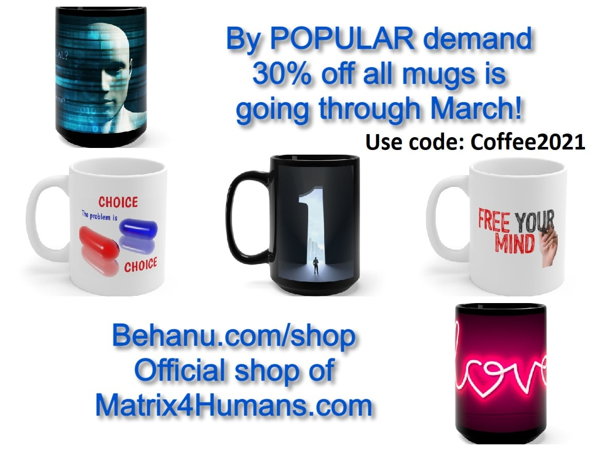 Matrix coffee mugs